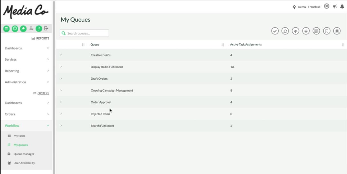 TapClicks enterprise task management flows